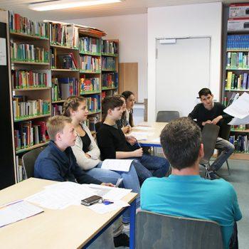 Gymnasium Lindlar Bibliothek