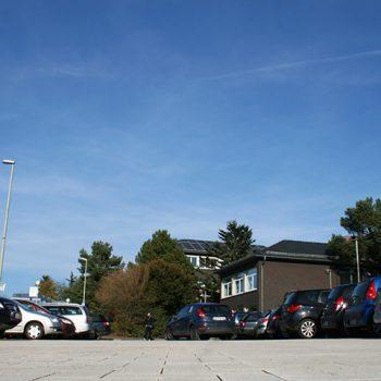 Gymnasium Lindlar Parkplatz