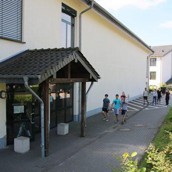 Gymnasium Lindlar Turnhalle