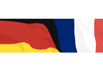 Deutsch-Französische Flagge